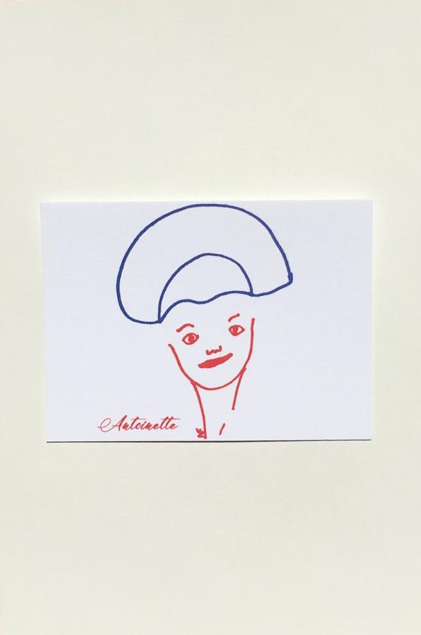 Antoinette Postcard