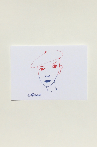 Marcel Carte postal